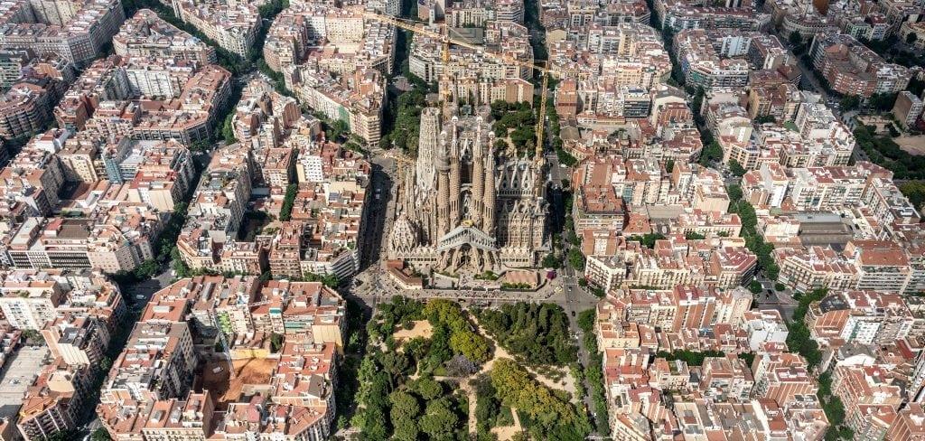 Siguiendo a Gaudí