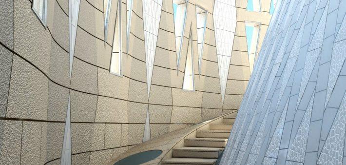 Interior torre de la Mare de Déu