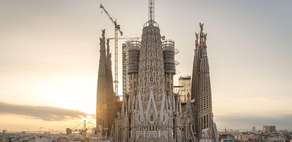 2019 The Year The Sagrada Família Skyline Starts To Change Blog Sagrada Família
