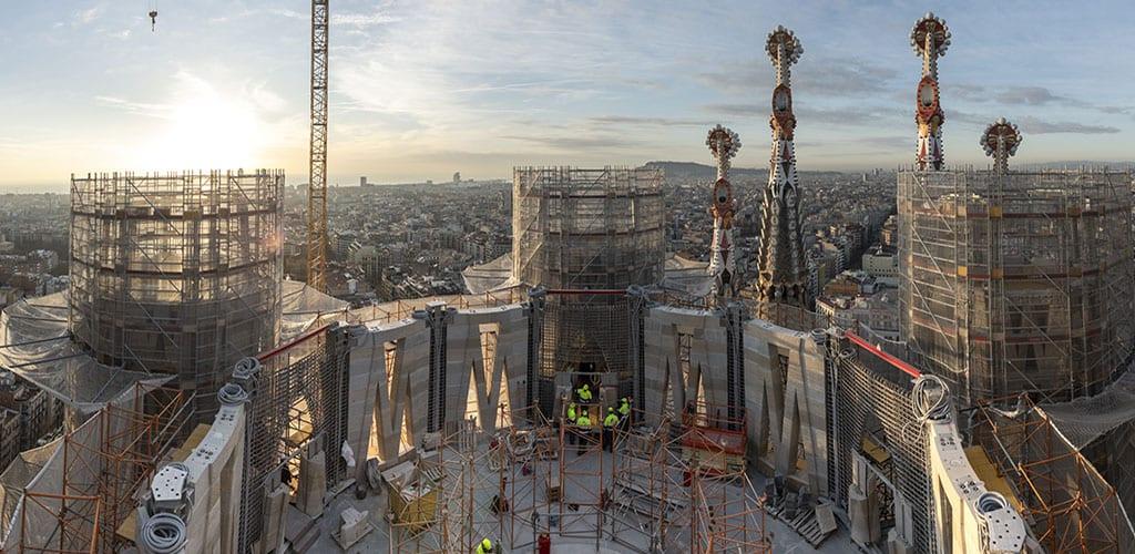 torres centrals sagrada familia